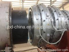 Large diameter PE water supply pipe extrusion line