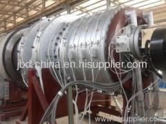 Large diameter PE water supply pipe making machinery