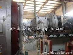 Large diameter PE water supply pipe making equipment