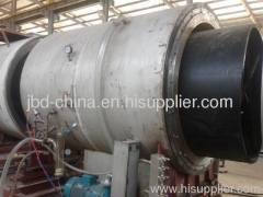 Large diameter PE water supply pipe line