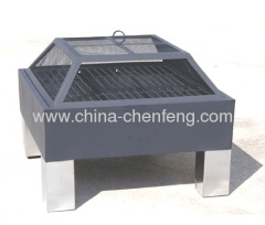 outdoor bbq fire pit grills