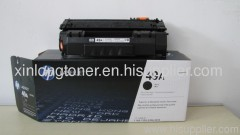 new black HP printer toner cartridge