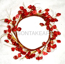 Wholesale christmas decor--3.5 BEAD CANDLERING