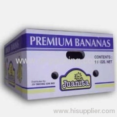 Corrugated Cardboard Fruit Packaging Carton