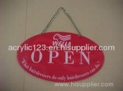 wall mount acrylic sign holder