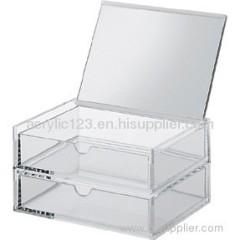 Acrylic Display Box With Hingle lid