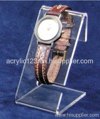 transparent acrylic watch display stand