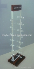 rotate clear acrylic glasses holder
