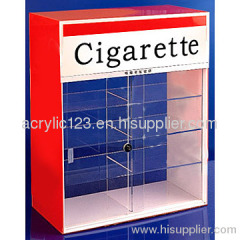 Acrylic tobacco display case& cigarette display ,OEM available