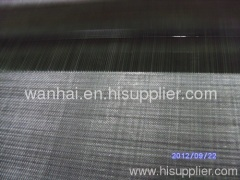 black plain steel wire cloth mill supply