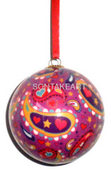 60MM DECOUPAGE BALL HANGING