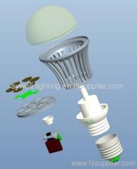 UL listed E27 Mcob Led Bulb