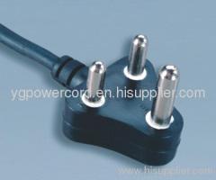 SANS 164 PLUG 16A 250V H05VV-F 3X1.5MM2