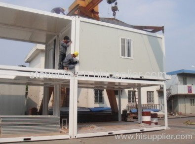 Modular Container Office in two stories
