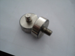 Neodymium cup magnet w/M6 streaded male stud
