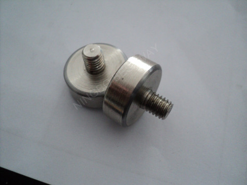 Neodymium cup magnet w/M6 streaded male stud