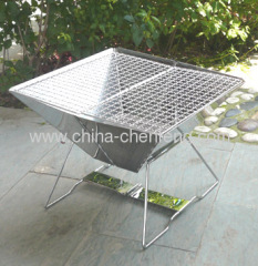 stainless steel folding barbecue grills