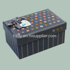 Gift paper box for Christmas