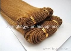 Hand-tie remy hair extension