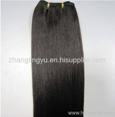 Silky straight remy hair extension
