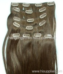 Clip in hair extension wholesaler