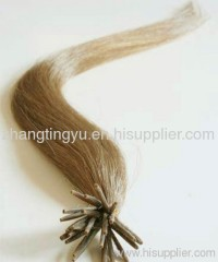 Remy I tip hair extension for lady