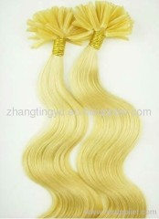 Yellow pre-bond Hair Extension