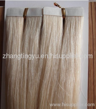 PU remy hair extension