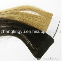 Tape hair extension for women