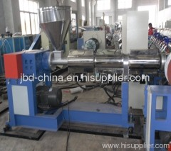 PVC spiral steel wire reinforced pipe making line