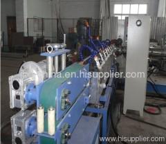 PVC spiral steel wire reinforced hose extrusion machine
