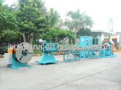 PVC steel wire reinforced hose making machine