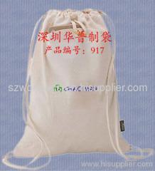 eco friendly cotton bag, unbleached cotton bag