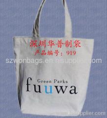 Cotton bag for shopping, Shoulder belt cotton bag