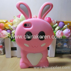 silicone Rabbit iphone 4S cover