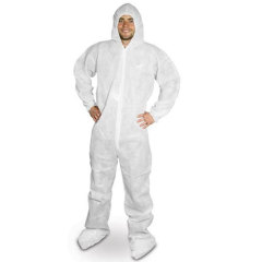 Disposable non woven Protective Coverall with hood