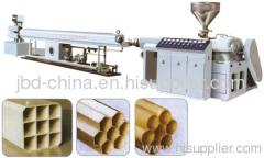 PE/PVC multi-hole pipe making line