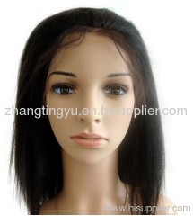 Yaki remy hair full lace wigs