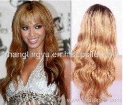 Blond body wave full lace wigs