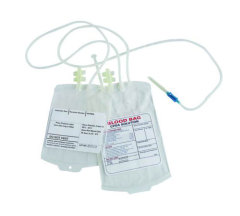 Rolled CPDA/CPD/SAGM Disposable Blood Bags