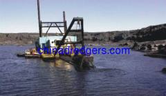 cutter head sand pump dredger