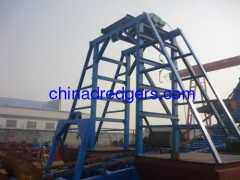 Bucket Gold Mining Dredger