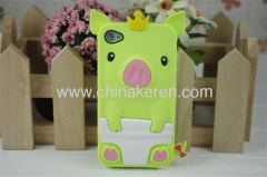 2013 fashion silicone iphone 4S cover