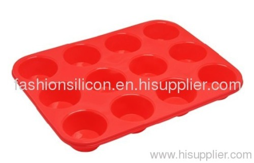 Silicon cake baking mould silicone cake mould