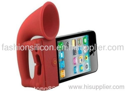 silicone mobile phone speaker