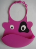 2013 new design silicone bibs for baby baby bib