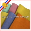 polyester mix with viscose non-woven felt clean cloth