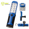 Super bright rechargeable LED work light with hidden hook & magnet