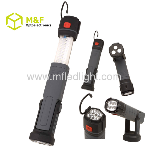 telescopic work light with magnet