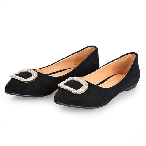 Black Flat Dress Shoes For Women From China Manufacturer ...